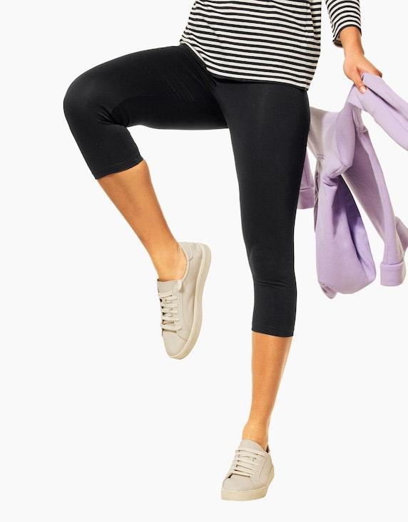 Street One Basic-Leggings, 3/4 Länge | ADLER Mode Onlineshop