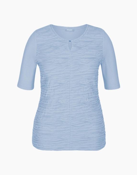Rabe Shirt mit Wellen-Struktur | ADLER Mode Onlineshop