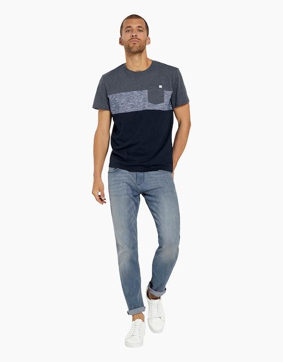 Tom Tailor T-Shirt mit Blockstreifen   ADLER Mode Onlineshop