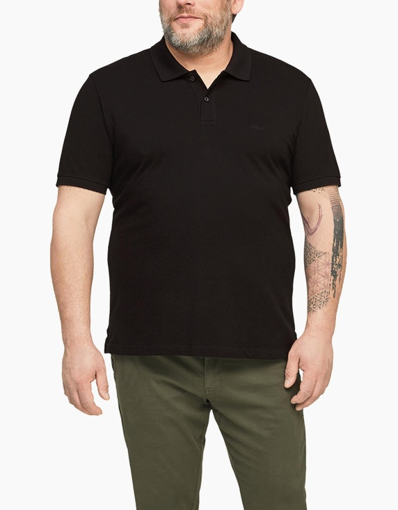 s.Oliver Poloshirt aus Baumwolle | ADLER Mode Onlineshop