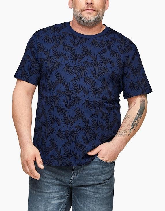 s.Oliver T-Shirt mit Alloverprint | ADLER Mode Onlineshop