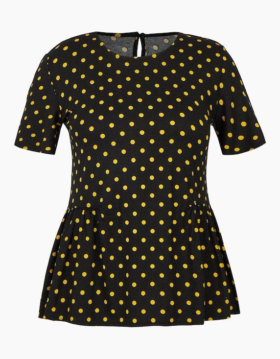 Birgit Schrowange Kollektion Gepunktetes Shirt | ADLER Mode Onlineshop