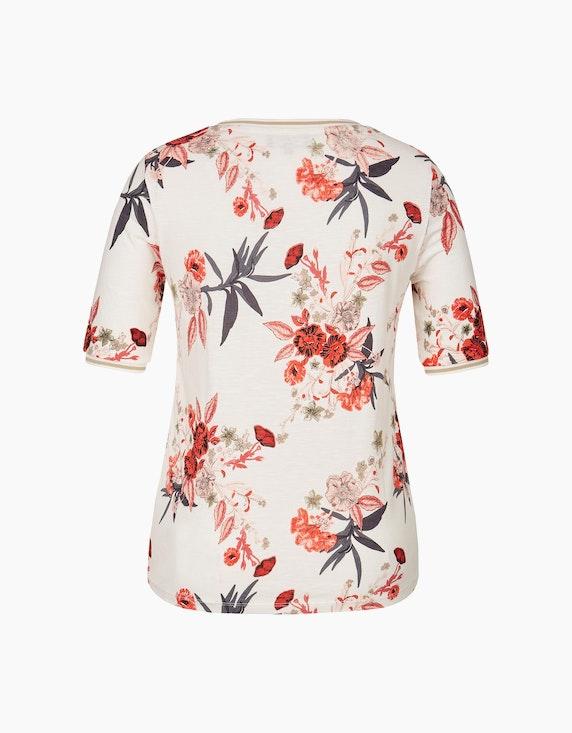 Bexleys woman Halbarmshirt mit Blumendruck | ADLER Mode Onlineshop