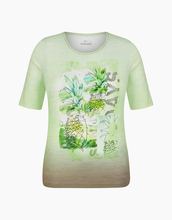 Rabe Shirt mit Farbverlauf und Druckmotiv   ADLER Mode Onlineshop