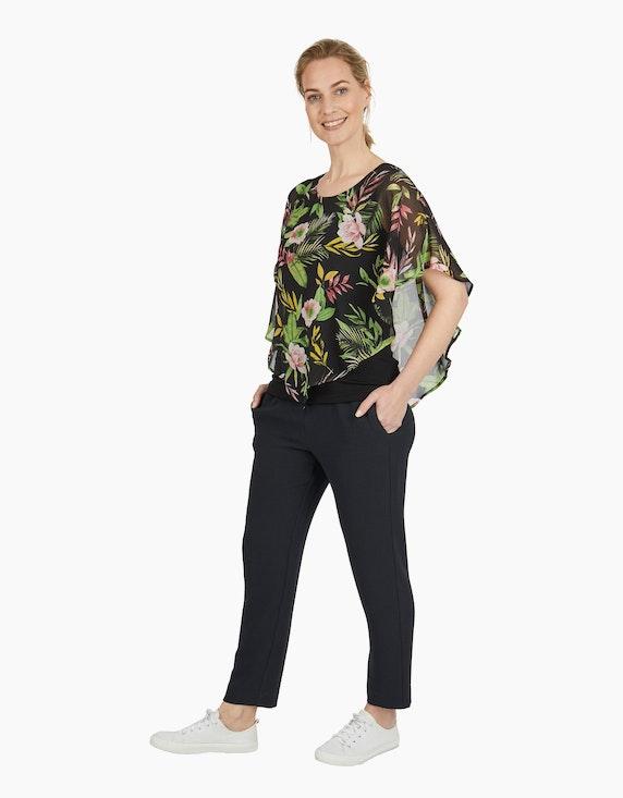 Viventy Cape-Bluse aus Chiffon | ADLER Mode Onlineshop