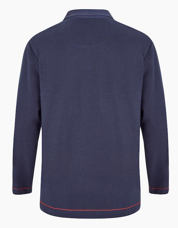 Big Fashion Poloshirt mit langen Ärmeln   ADLER Mode Onlineshop