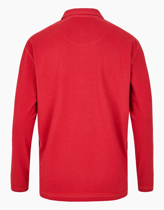 Big Fashion Poloshirt mit langen Ärmeln | ADLER Mode Onlineshop