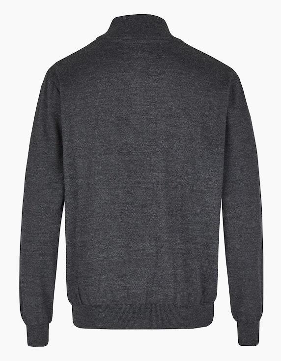 Bexleys man Pullover mit Stehkragen und Reißverschluss | ADLER Mode Onlineshop