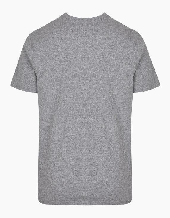 Bexleys man T-Shirt mit Frontprint   ADLER Mode Onlineshop