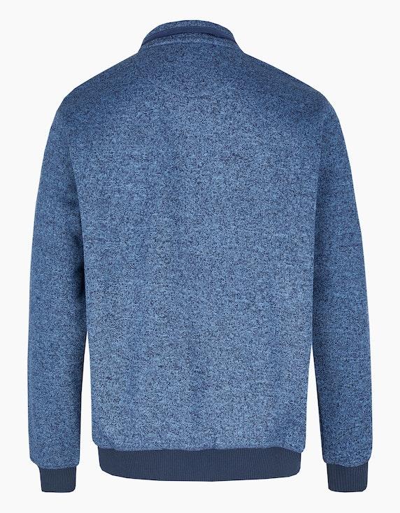 Bexleys man Fleece-Jacke mit Reißverschluss-Brusttasche   ADLER Mode Onlineshop