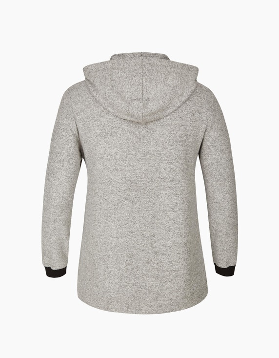 VIA APPIA DUE Flausch-Sweatshirt mit Kapuze   ADLER Mode Onlineshop