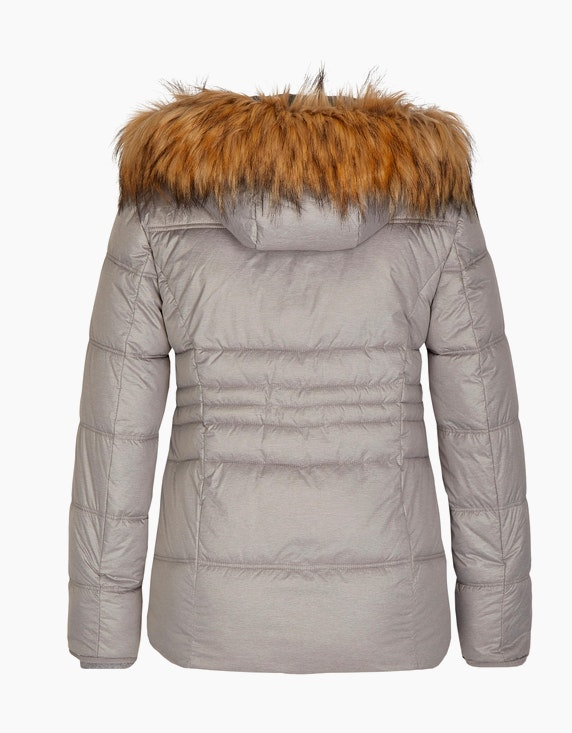 Bexleys woman Steppjacke mit Melange-Optik | ADLER Mode Onlineshop