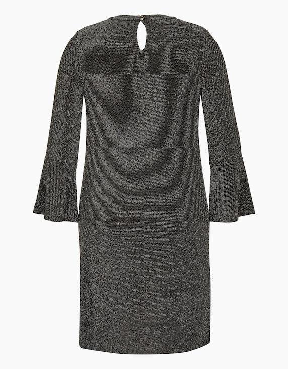 Bexleys woman Kleid im Glitzer-Look | ADLER Mode Onlineshop