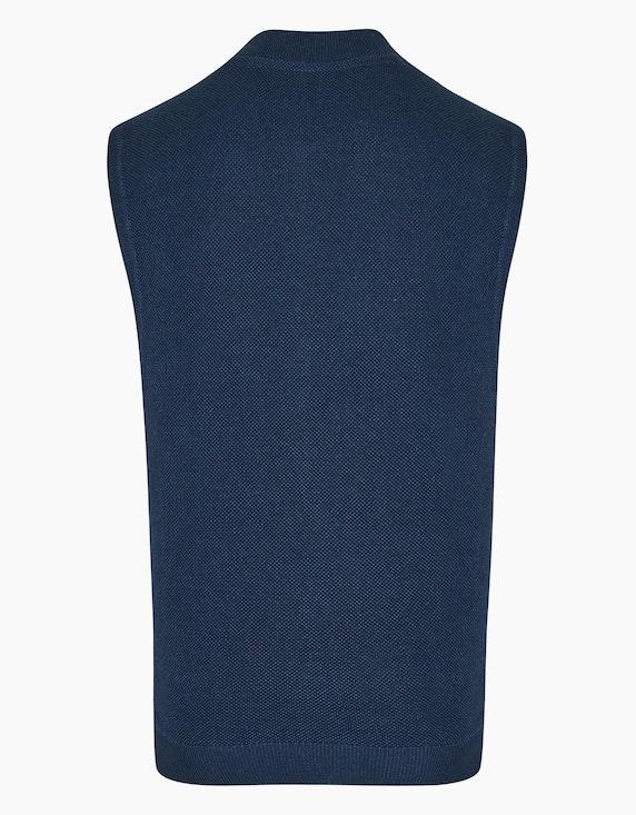 Bexleys man Weste mit Piqué-Struktur und Taschen | ADLER Mode Onlineshop