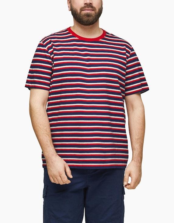 s.Oliver T-Shirt mit Ringelmuster | ADLER Mode Onlineshop