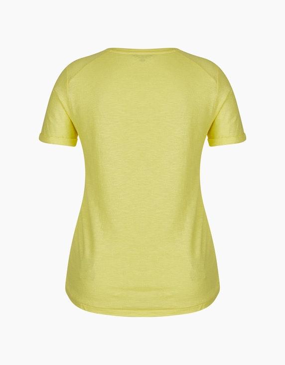 Steilmann Woman Statement-Shirt mit Glitzer-Effekt | ADLER Mode Onlineshop