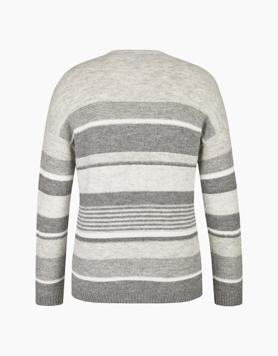 Bexleys woman Streifen-Pullover mit Kaminkragen | ADLER Mode Onlineshop