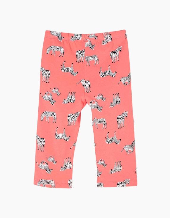s.Oliver Mini Girls 7/8-Leggings mit Zebra-Print | ADLER Mode Onlineshop