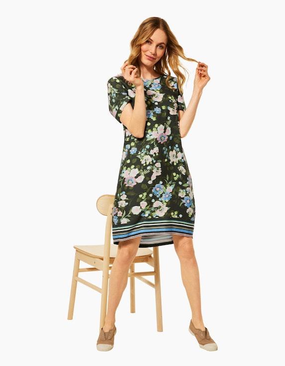 CECIL Kleid im Mustermix, reine Viskose | ADLER Mode Onlineshop