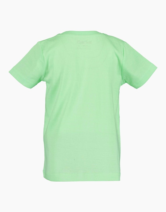 Blue Seven Mini Boys T-Shirt mit Front-Print | ADLER Mode Onlineshop