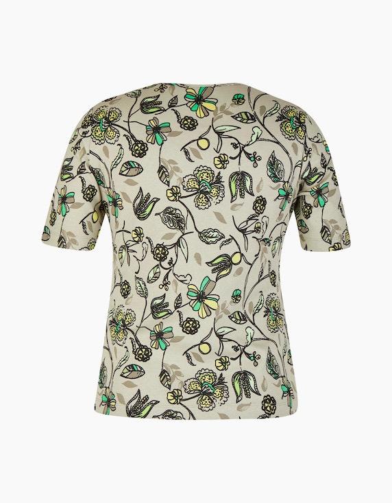 Rabe Baumwoll-Shirt mit floralem Druck | ADLER Mode Onlineshop