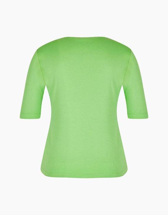 Rabe Baumwoll-Shirt mit Glitzer-Ausschnitt | ADLER Mode Onlineshop