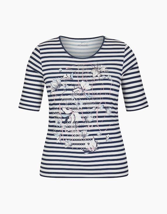 Rabe Shirt mit Druck und Glitzersteinen | ADLER Mode Onlineshop