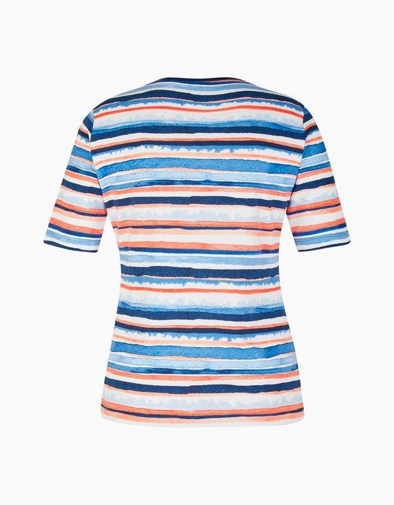 Rabe Baumwoll-Shirt mit Streifenmuster | ADLER Mode Onlineshop