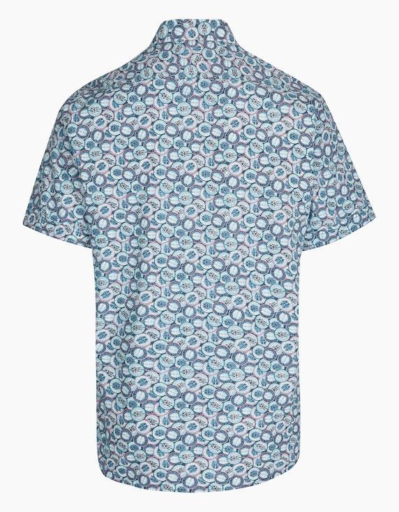 Bexleys man Freizeithemd mit Autoprint, MODERN FIT | ADLER Mode Onlineshop
