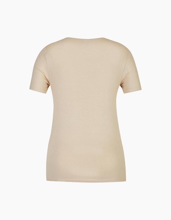 Bexleys woman T-Shirt mit Metallic-Druck   ADLER Mode Onlineshop