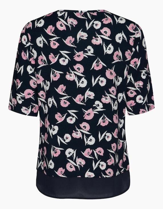 Frank Walder Shirt mit floralem Allover-Print | ADLER Mode Onlineshop
