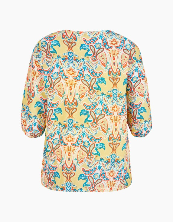 No Secret Bluse mit Allover-Paisleymuster | ADLER Mode Onlineshop