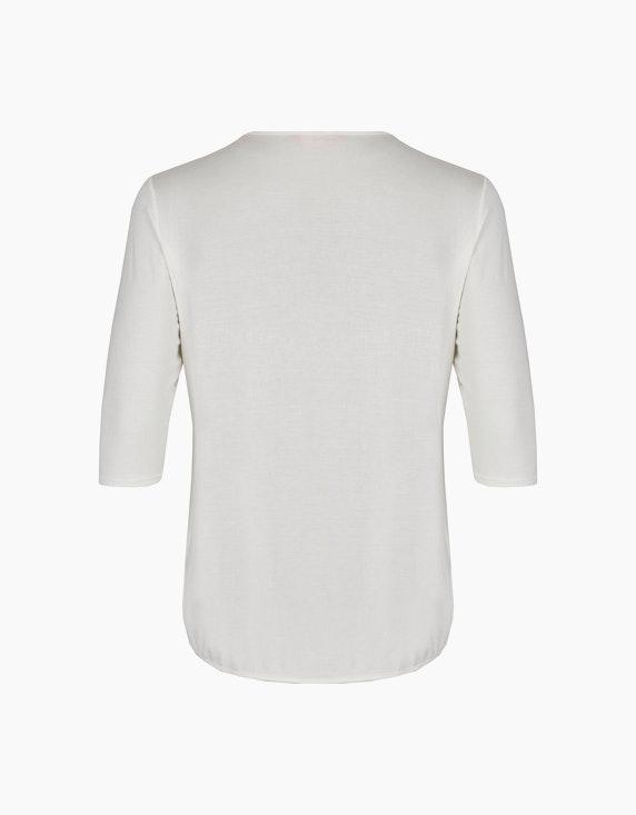 Thea Shirt mit Frontprint und Ziersteinen | ADLER Mode Onlineshop