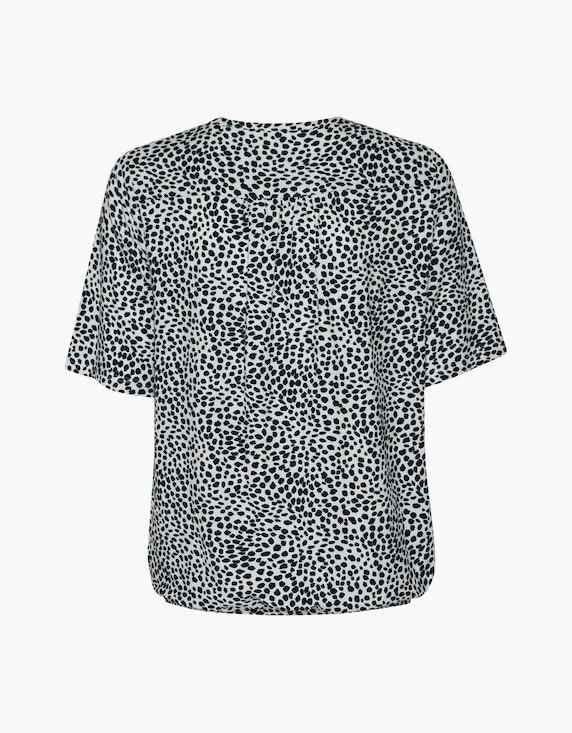 Frank Walder Blusenshirt mit femininem Druck | ADLER Mode Onlineshop