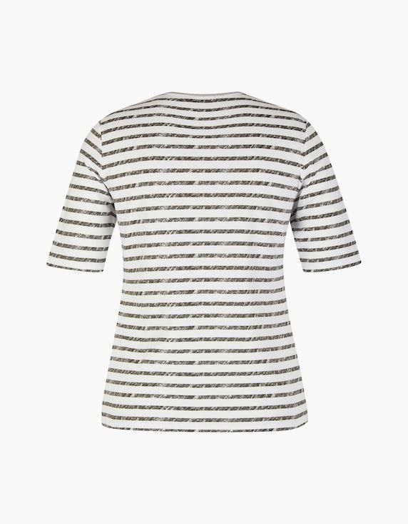 Rabe Shirt mit Streifen und Strass | ADLER Mode Onlineshop