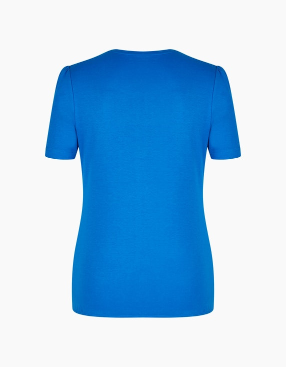 Malva Shirt mit raffinierter Kellerfalte | ADLER Mode Onlineshop