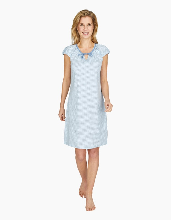 Bexleys woman Nachthemd mit Allover-Print | ADLER Mode Onlineshop