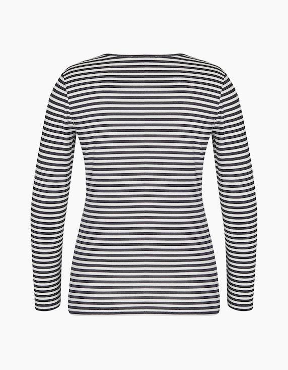 Bexleys woman Langarmshirt mit Streifen | ADLER Mode Onlineshop