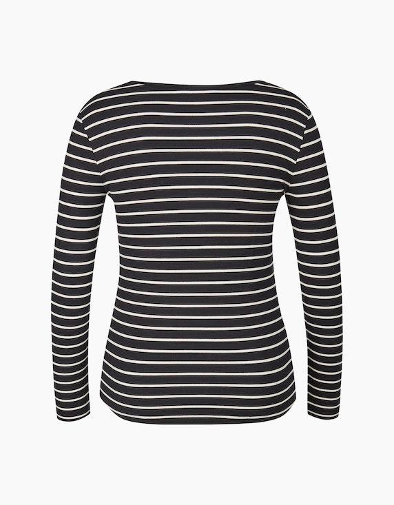 Bexleys woman Gestreiftes Langarmshirt in leichter Sweat-Qualität   ADLER Mode Onlineshop