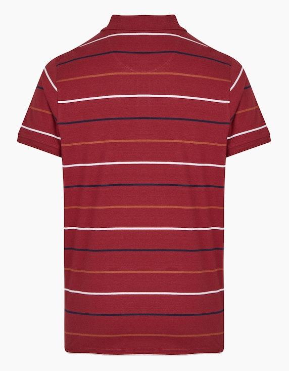 Bexleys man Gestreiftes Shirt mit Polokragen | ADLER Mode Onlineshop