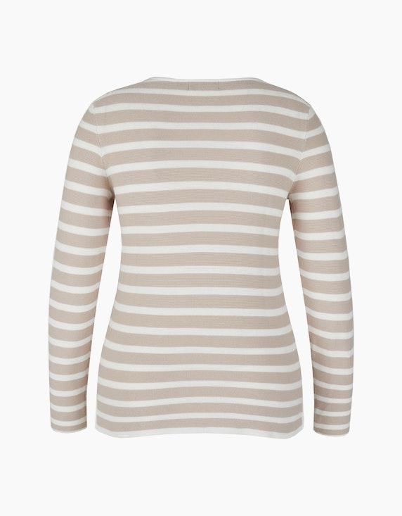 Bexleys woman Baumwoll-Pullover im Streifen-Look | ADLER Mode Onlineshop