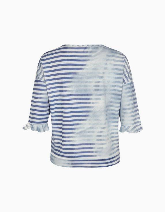 No Secret Shirt in Ringel-Optik und Motivdruck | ADLER Mode Onlineshop