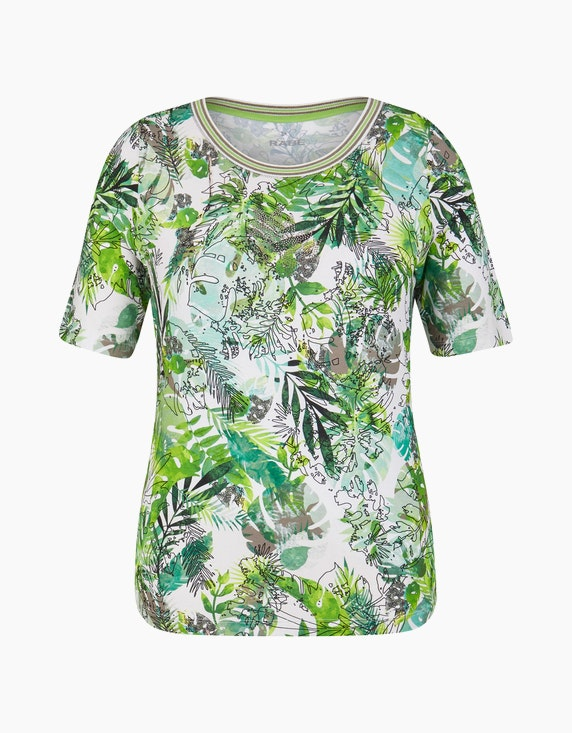 Rabe Shirt mit floralem Allover-Print | ADLER Mode Onlineshop