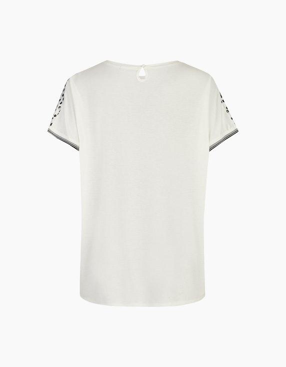 Thea Bedruckte Bluse mit überschnittenen Ärmeln   ADLER Mode Onlineshop