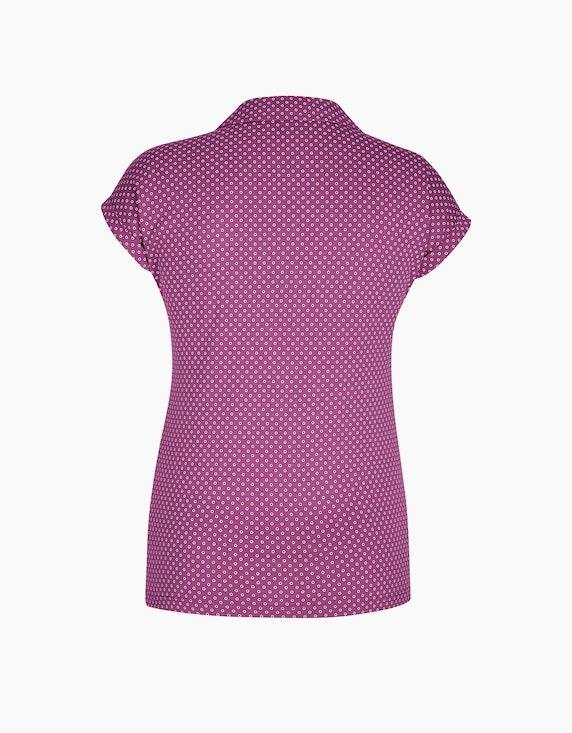 Bexleys woman Poloshirt mit Punkte-Druck | ADLER Mode Onlineshop