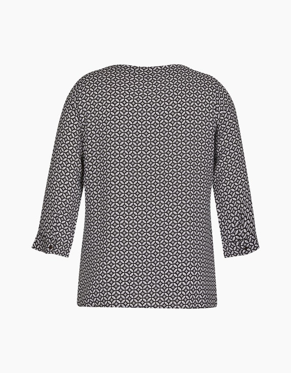 Bexleys woman Schlupfbluse mit Allover-Print und Ärmeln in 3/4 Länge | ADLER Mode Onlineshop