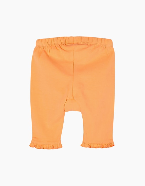 s.Oliver Baby Girls Capri-Leggings mit Rüschendetail   ADLER Mode Onlineshop