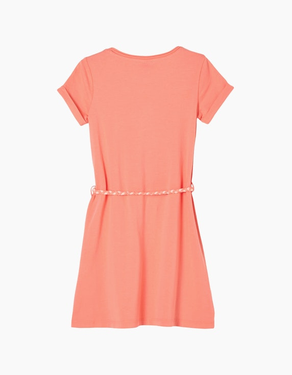 s.Oliver Mini Girls Jerseykleid mit Pailletten-Motiv   ADLER Mode Onlineshop