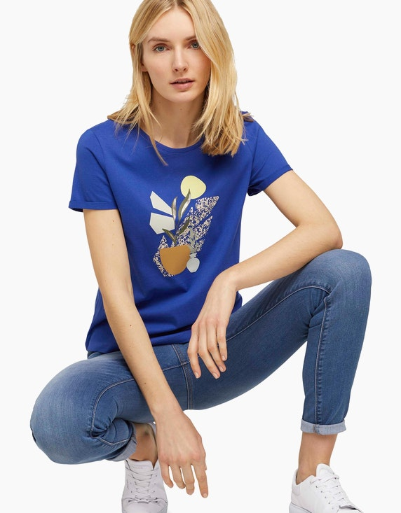 Tom Tailor T-Shirt mit Bio-Baumwolle   ADLER Mode Onlineshop