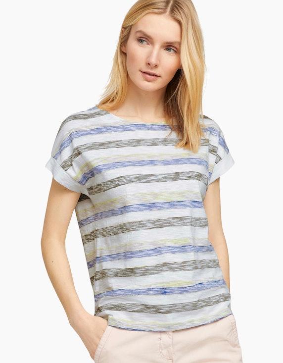 Tom Tailor Lockeres T-Shirt mit Bio-Baumwolle   ADLER Mode Onlineshop